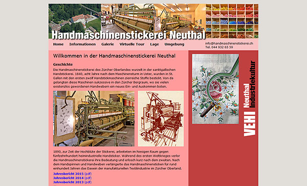 Handmaschinenstickerei Neuthal